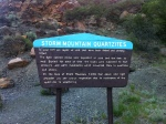 Storm Mountain Quartzite